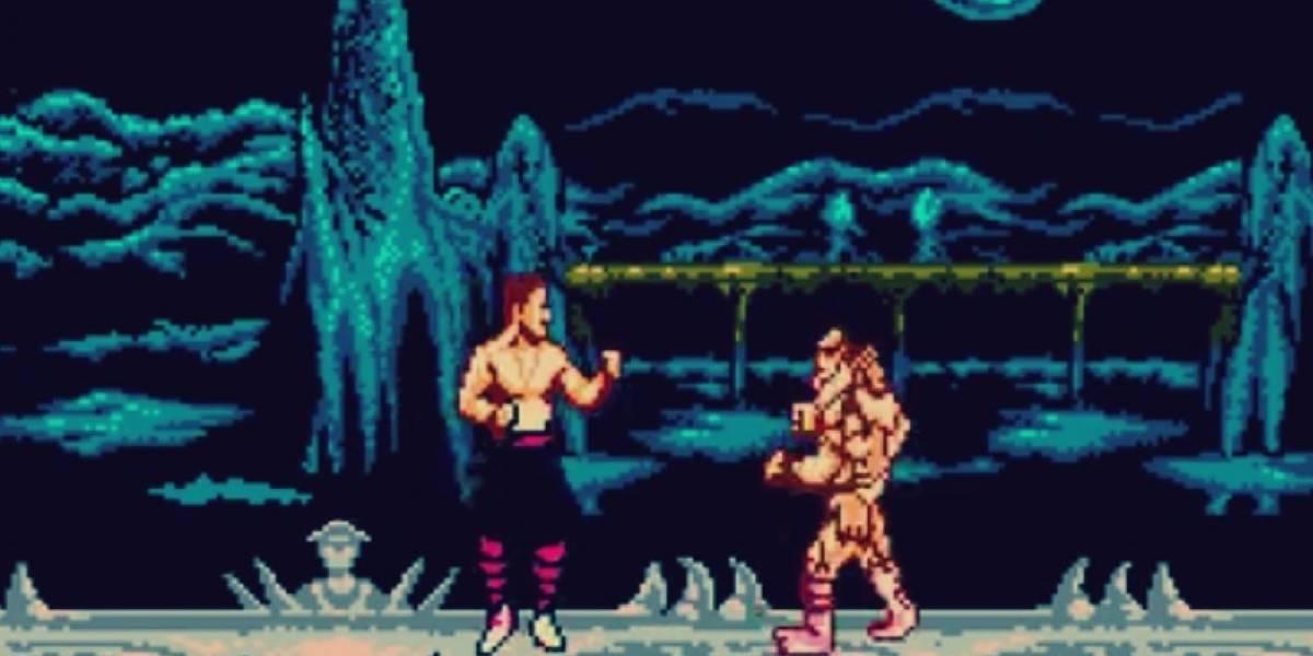 La notable (y pirata) versión de Mortal Kombat II para NES