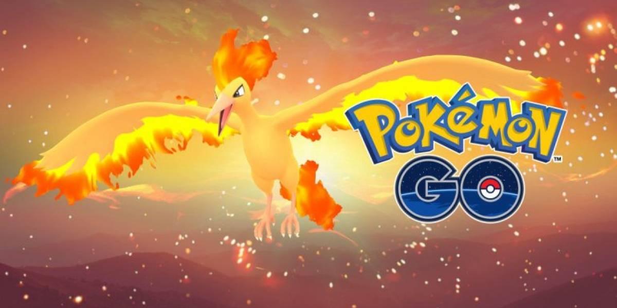 Pokémon GO trae nuevas misiones que facilitarán la captura de Moltres