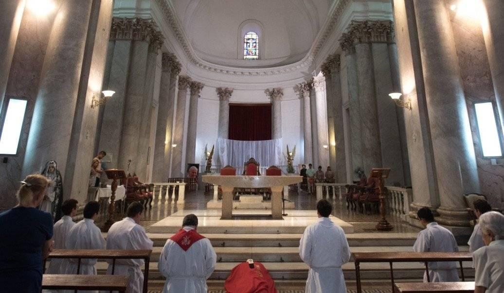 Viernes Santo en la Catedral de Paraná