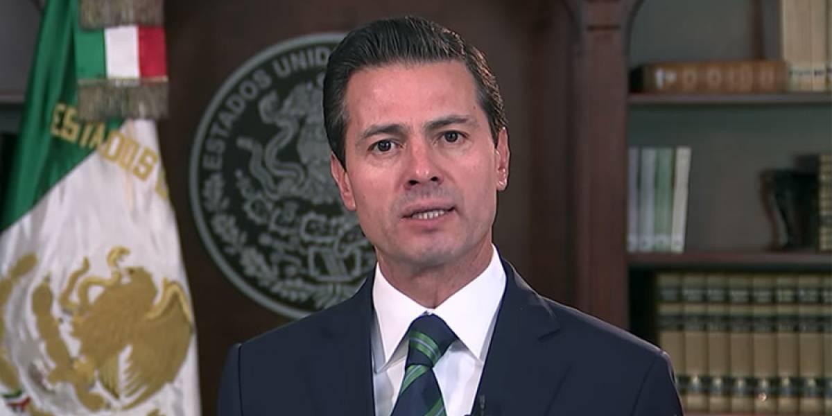 """VIDEO. Presidente Peña Nieto exigió """"respeto y seriedad"""" a gobierno de Trump"""
