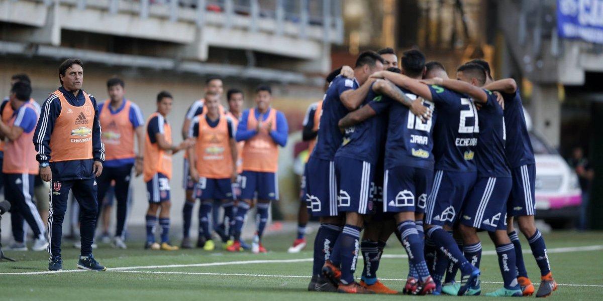 """Hoyos dosifica: los """"equipos B"""" de la U reciben la bendición de los históricos"""