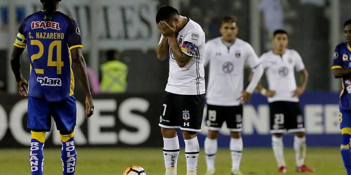 Colo Colo fue un fantasma y sufrió un bochorno Monumental ante Delfín en la Libertadores