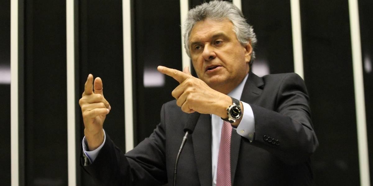 'Intocáveis' receberão tratamento igualitário da Justiça, diz Ronaldo Caiado