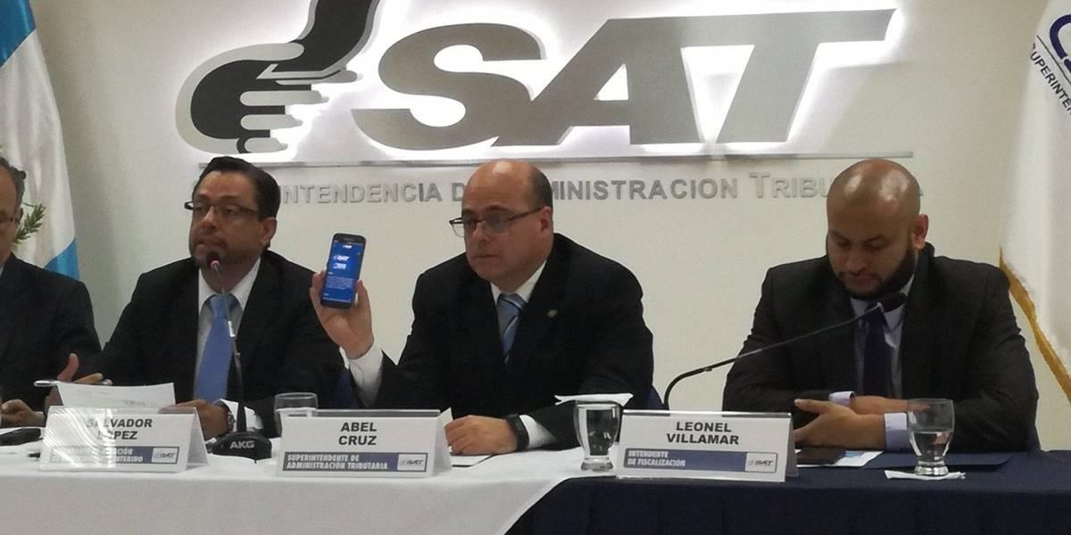 Lanzan aplicación móvil para facilitar los servicios de la SAT
