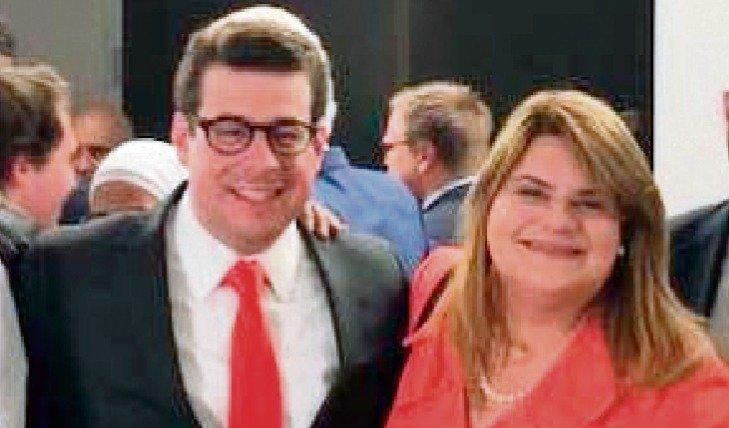 Francisco Domenech y Jennifer González Suministrada