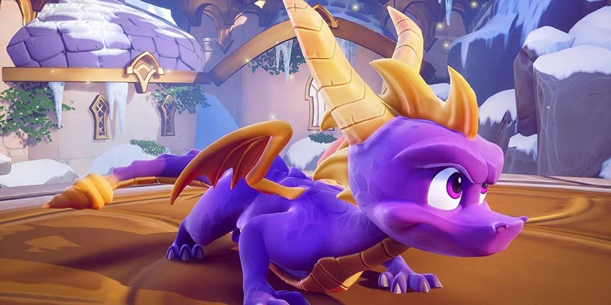 Confirman la remasterización de la trilogía original de Spyro the Dragon