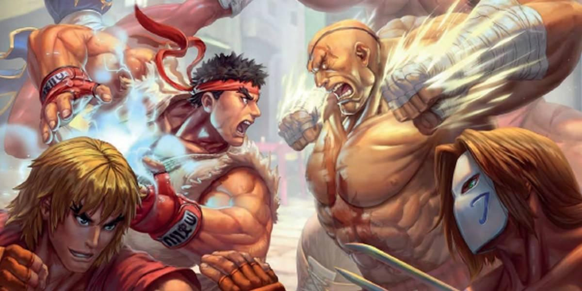 Juego de mesa de Street Fighter es todo un éxito en Kickstarter