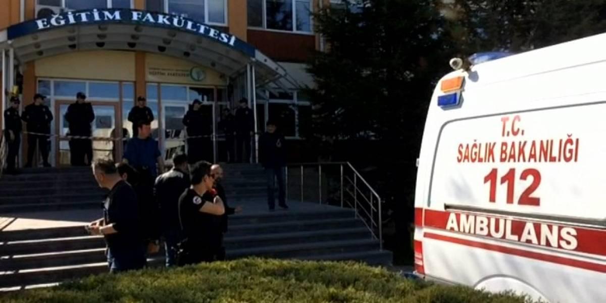 Tiroteo en una universidad de Turquía deja cuatro muertos