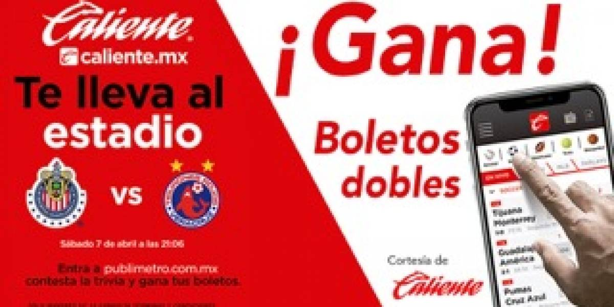 ¡Gana! boletos Chivas vs Lobos