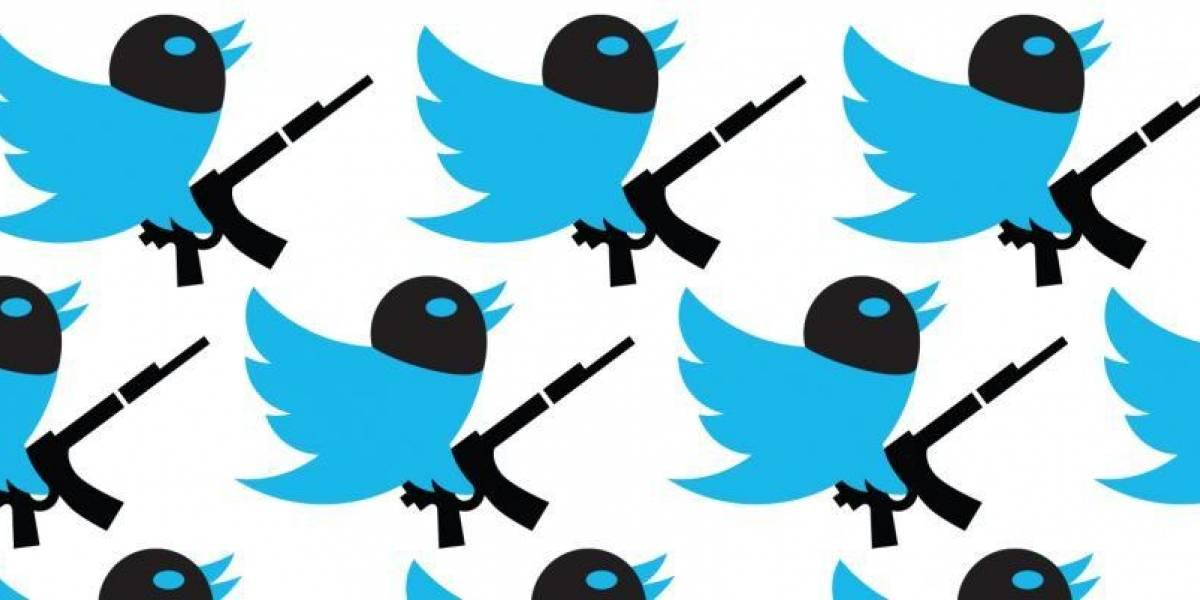 """Twitter cierra más de 1.2 millones de cuentas por """"contenido terrorista"""""""