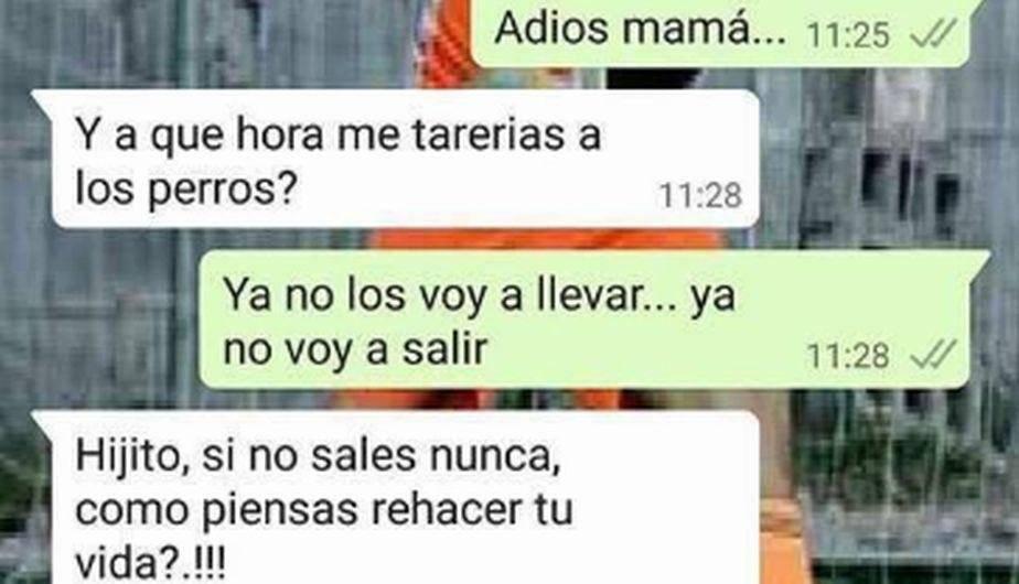 Perú.com WhatsApp: Madre sorprende a su hijo con una escena