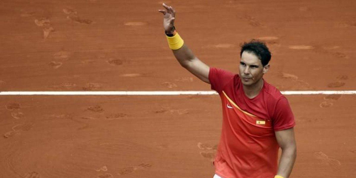 Rafael Nadal mantiene a flote a España con una victoria en la Copa Davis