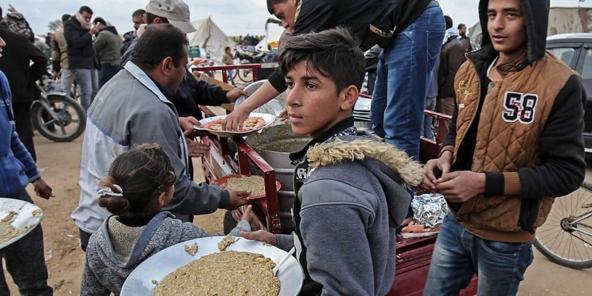 Informe de la ONU revela que la mitad de población de Gaza podría quedarse sin comida en junio