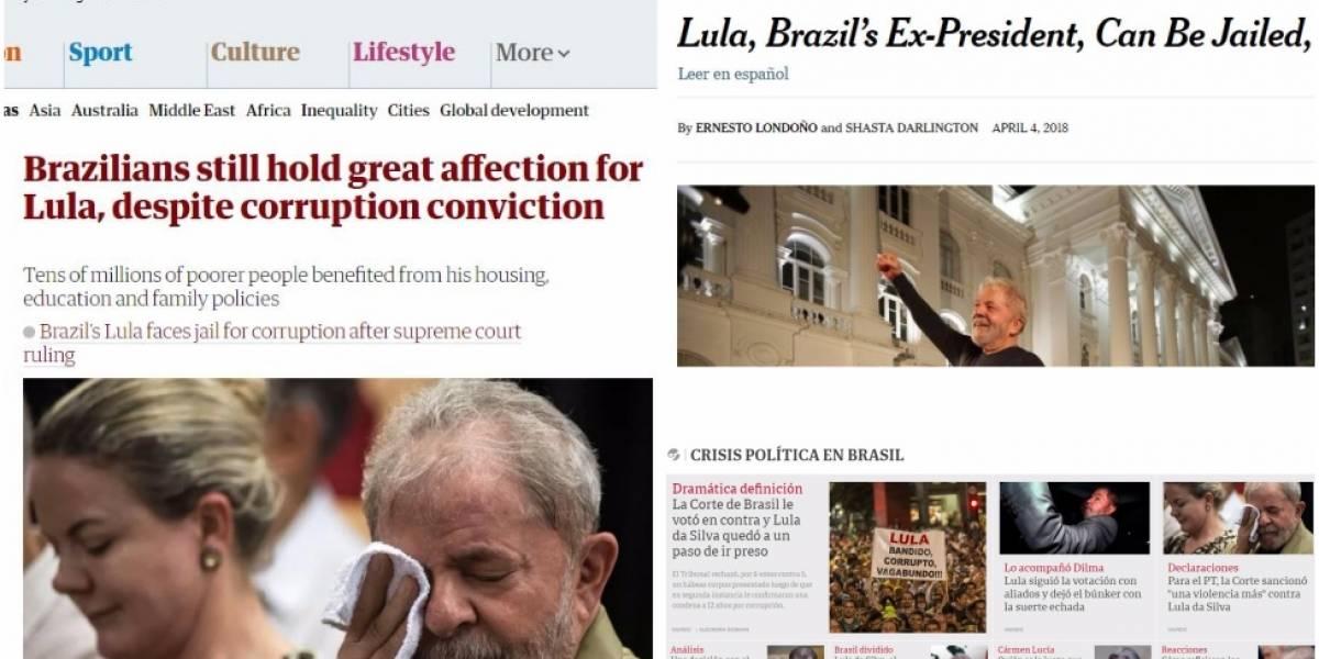 """Imprensa estrangeira vê decisão """"explosiva"""" do STF e """"fim da carreira política de Lula"""""""