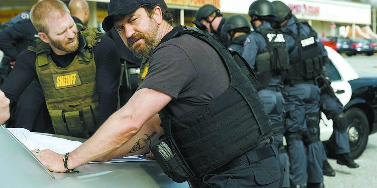 Gerard Butler tenta reerguer imagem em novo filme sobre grupo de ladrões