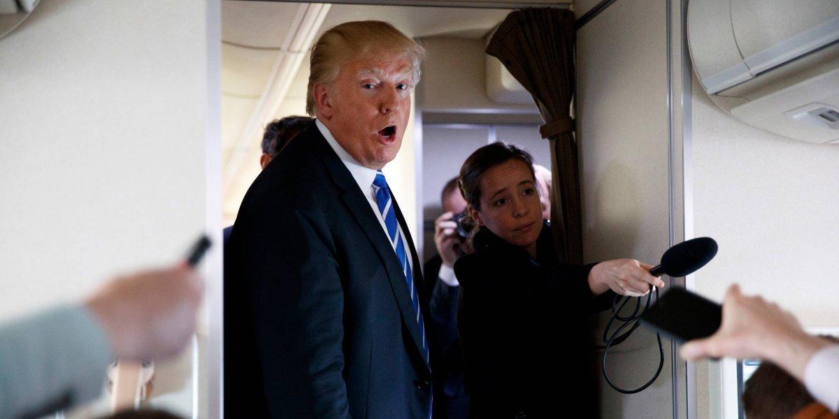 Trump dice que no sabía del pago a actriz porno Stormy Daniels