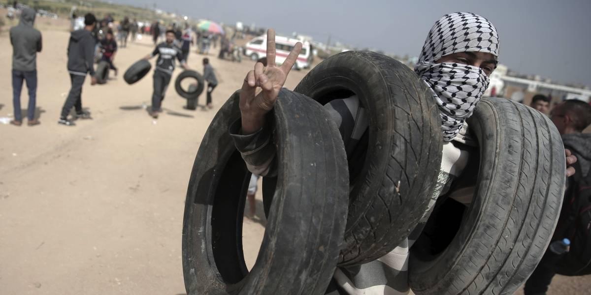 Jornada de violencia en Gaza deja al menos 3 palestinos muertos y 250 heridos