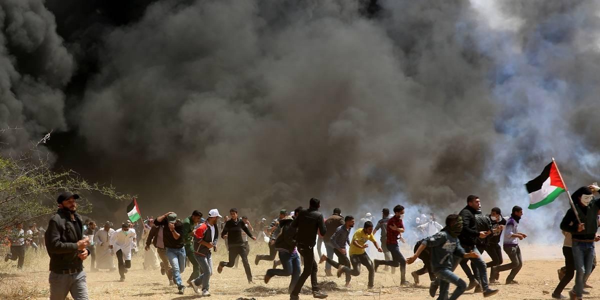 Sangrienta marcha en frontera de Gaza e Israel enluta a Palestina
