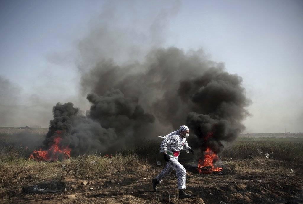 Marcha de palestinos