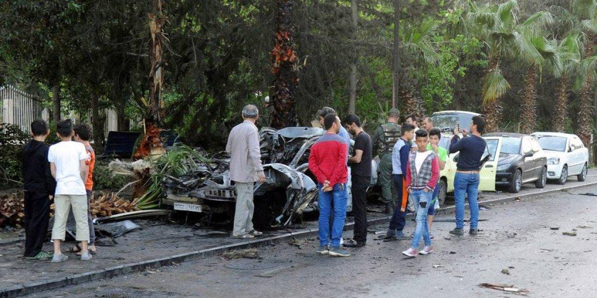 Al menos 36 muertos en nuevos ataques cerca de capital siria