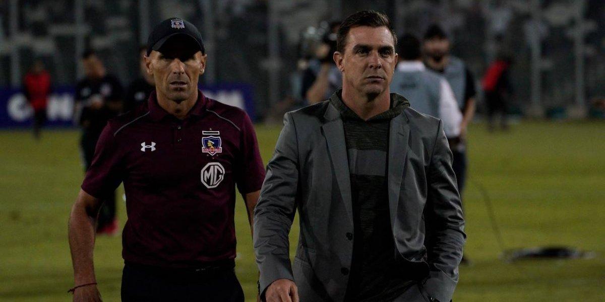 Pablo Guede se va de Colo Colo tras el papelón en la Copa Libertadores