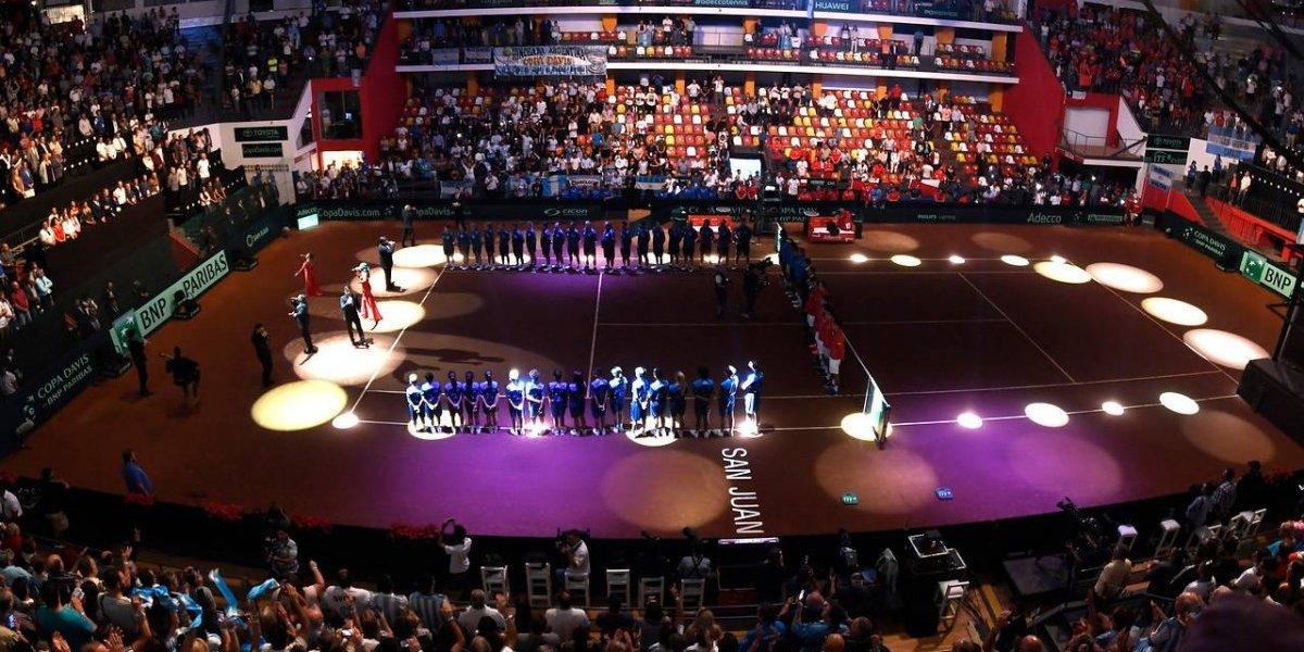 Así vivimos el primer día del clásico de Copa Davis entre Argentina y Chile