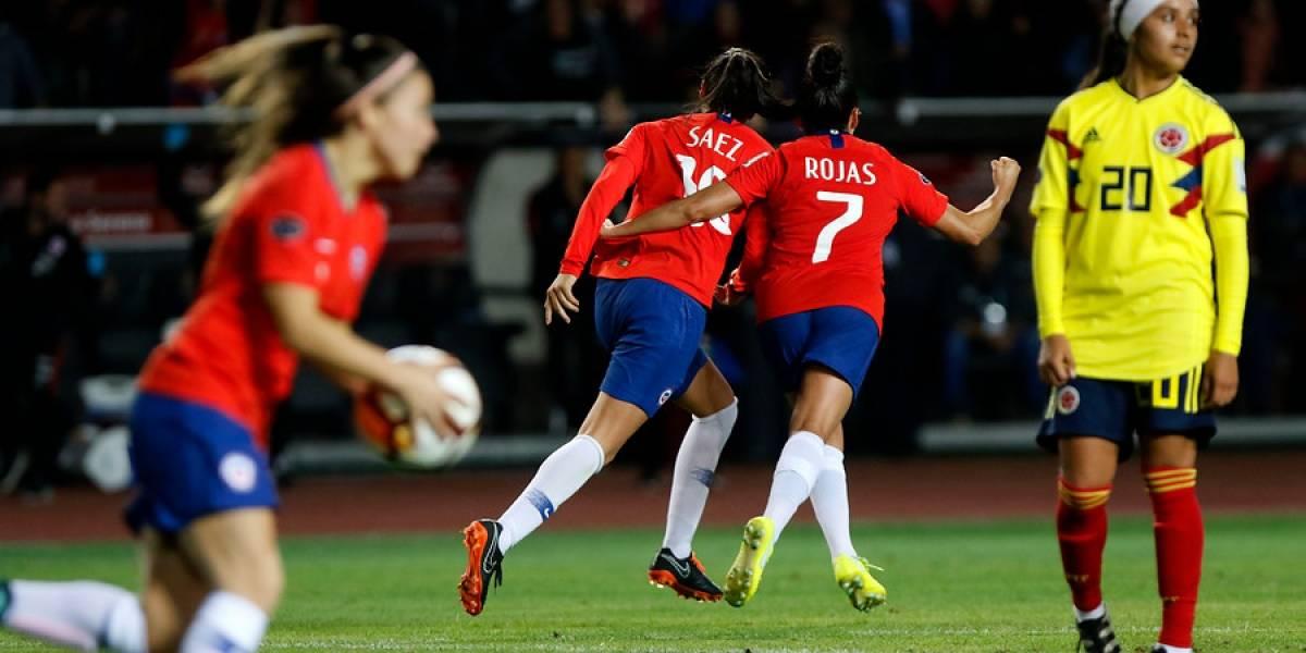 Chile sigue vivo en la Copa América Femenina tras igualar ante Colombia