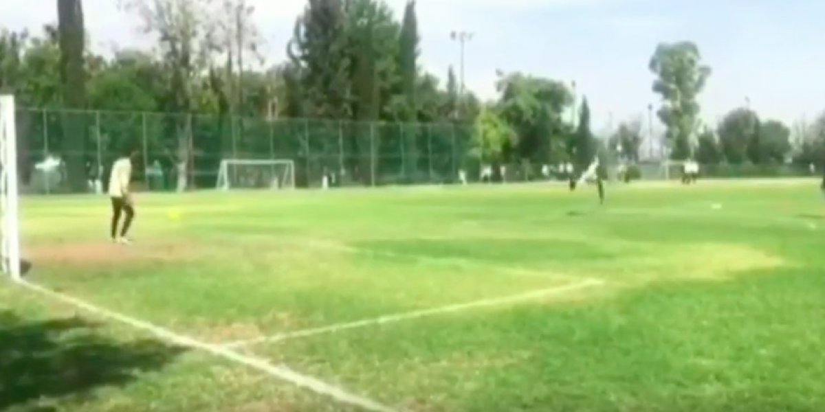 VIDEO: Agustín Marchesín hace homenaje a CR7