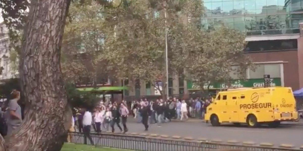 Más de 5 mil personas evacuaron cinco edificios en plena Alameda: era un ejercicio de simulacro
