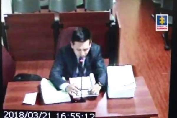 Fiscal falso de Pedro Aguilar