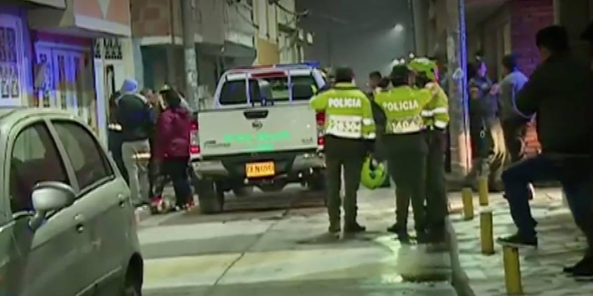 Roban camioneta blindada luego de golpear a escolta en Bogotá