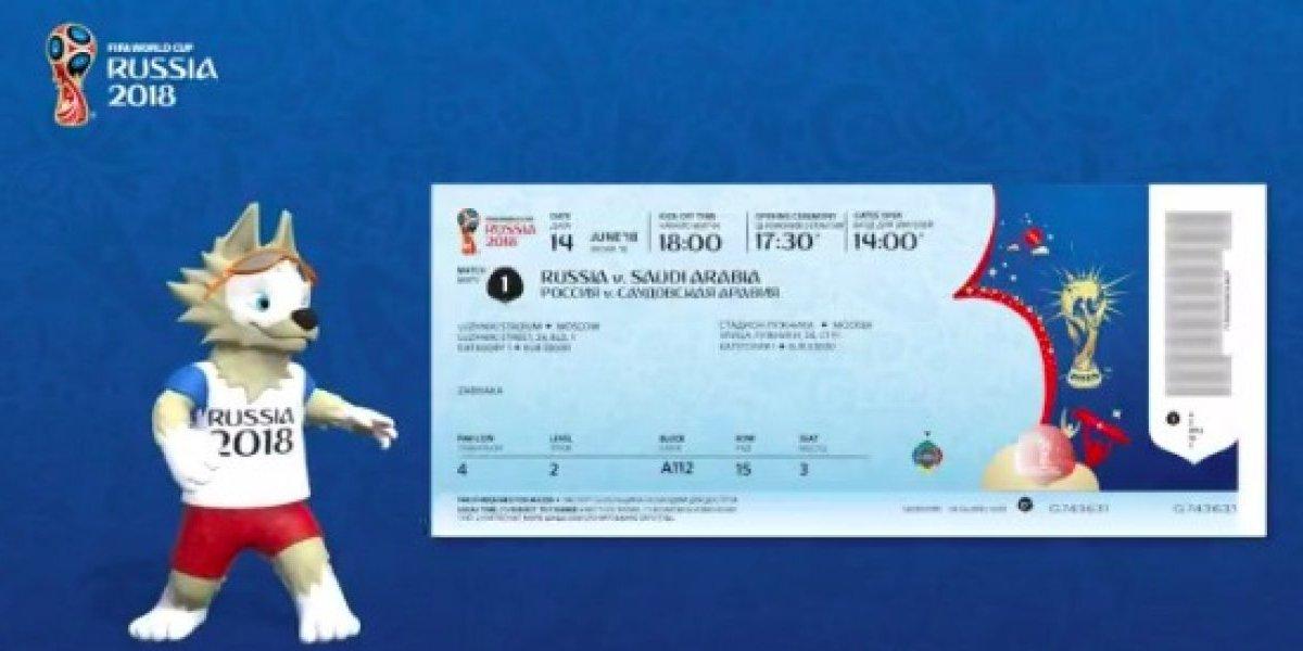 FOTO: Así lucirán los boletos para los partidos del Mundial