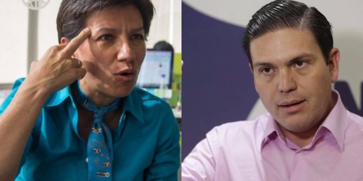 Claudia López y Juan Carlos Pinzón se enfrentaron en debate vicepresidencial