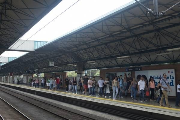 Estación Poblado del Metro de Medellín