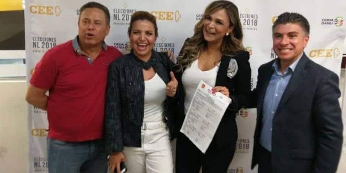 Brenda Bezares se registra como candidata a diputada local de NL
