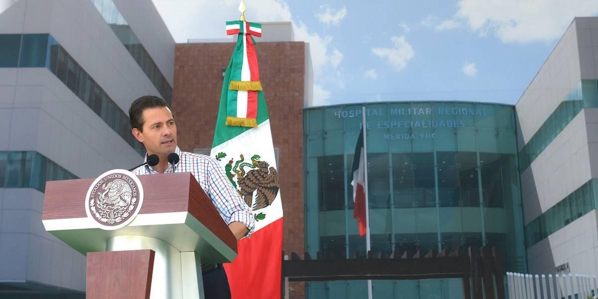 Habrá firmeza para defender la dignidad de los mexicanos: Peña Nieto