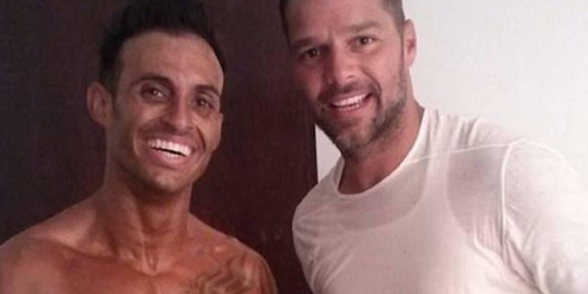 Eric confiesa que ser hermano de Ricky Martin no es nada fácil