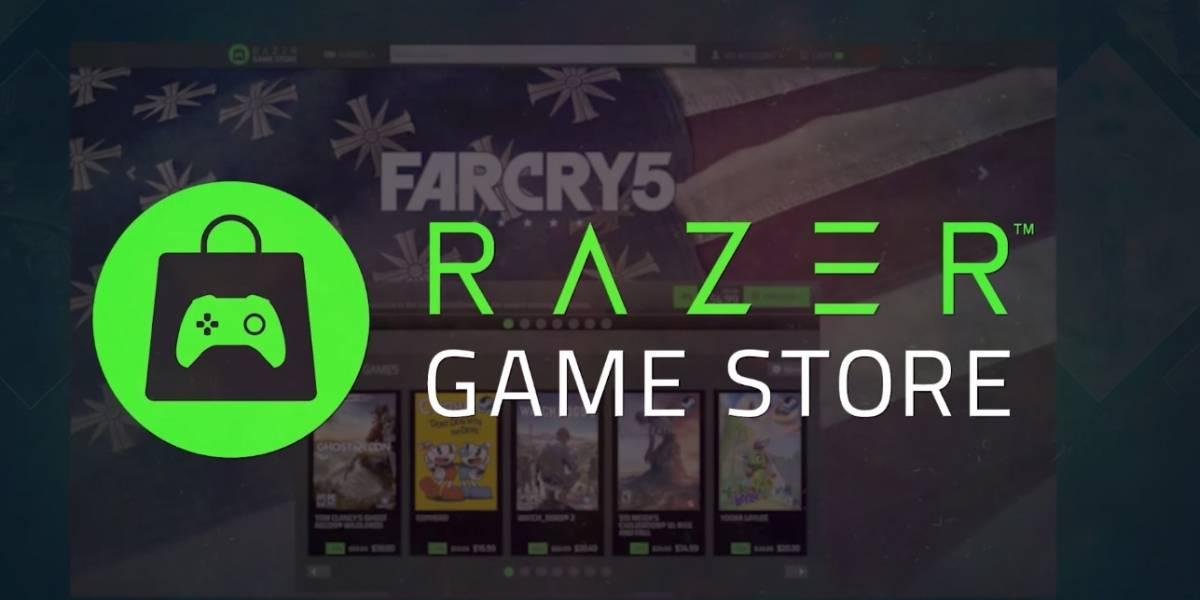 Tiembla Steam: Razer lanza su propia tienda de juegos digitales