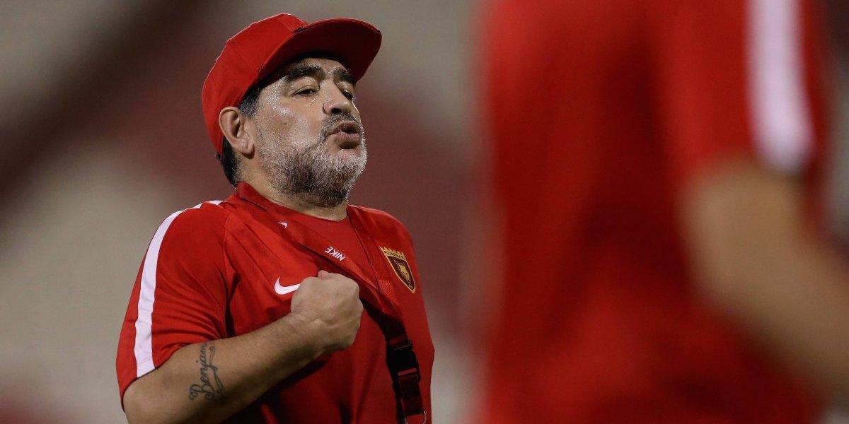 Sin filtro: Maradona acusó de traidor a Sampaoli y barrió con el trabajo de Becaccece en Argentina