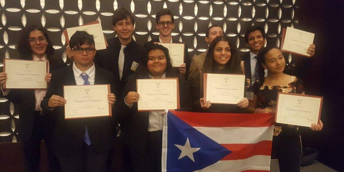 Estudiantes boricuas participan en el Harvard Model Congress