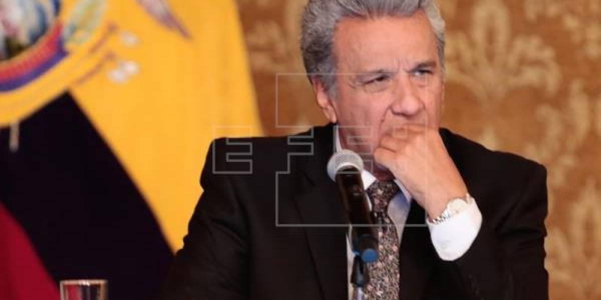 Moreno renueva por decreto estado de excepción en zona fronteriza