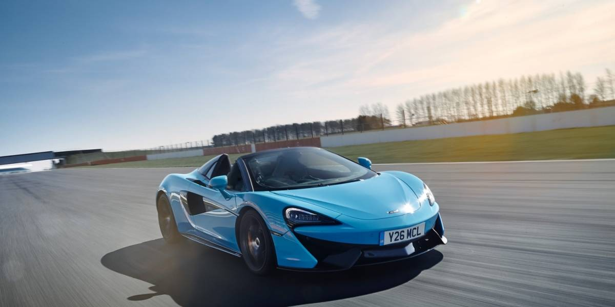 McLaren incorpora el Track Pack al 570S Spider