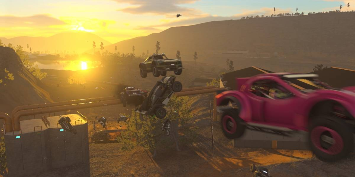 'Onrush': batidas, capotagens e até corrida de carros!