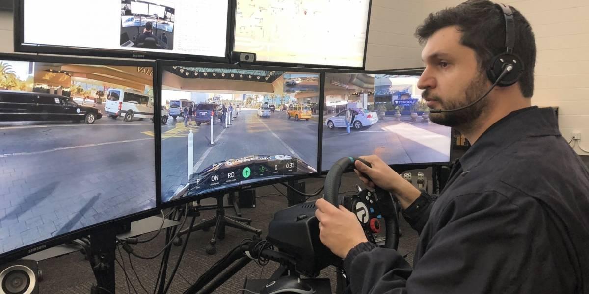Phantom Auto es un servicio de piloto a distancia en caso de que falle la autonomía