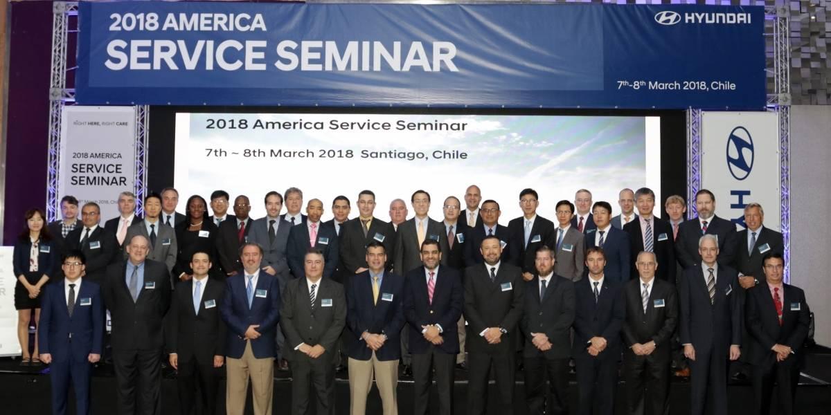 Automotores Gildemeister organiza seminario regional de servicio Hyundai y es premiado