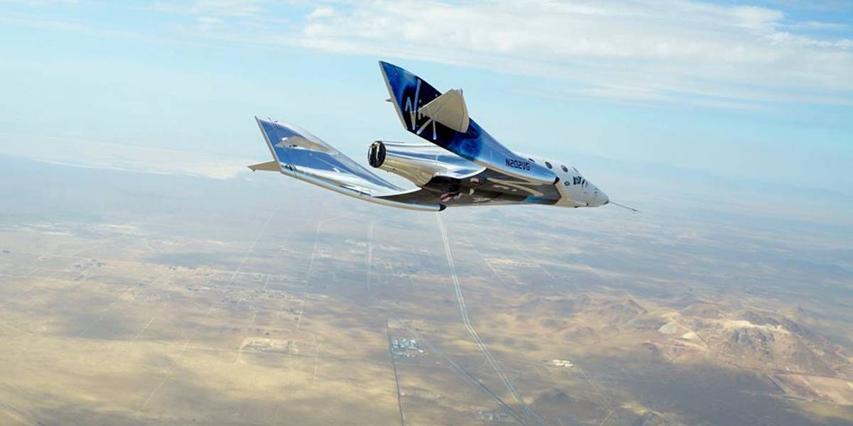 Virgin Galactic realiza novo teste de 'turismo espacial'