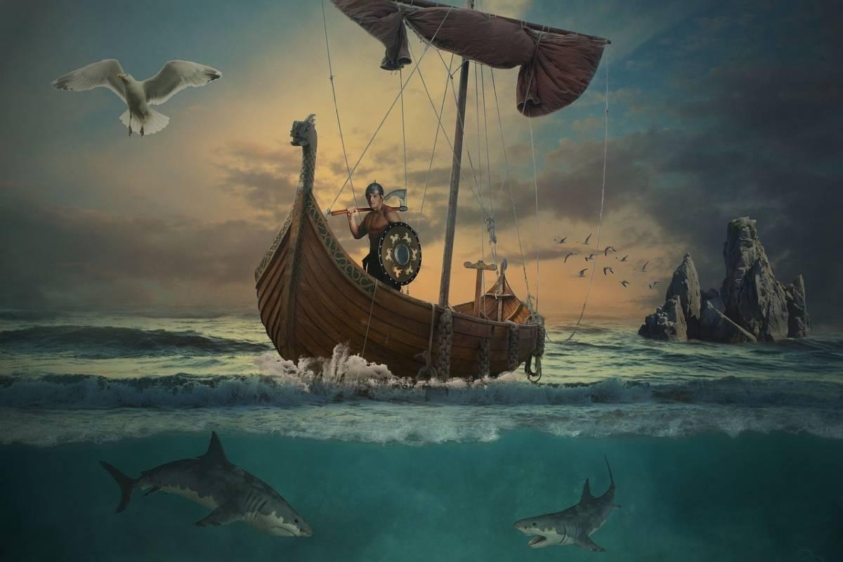 La mítica piedra solar con la que navegaban los vikingos podría haber sido real