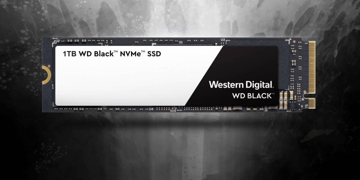 Western Digital presenta una nueva y potente unidad SSD NVMe de alto rendimiento
