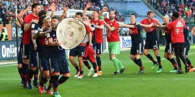 El Bayern festejó de manera anticipada.