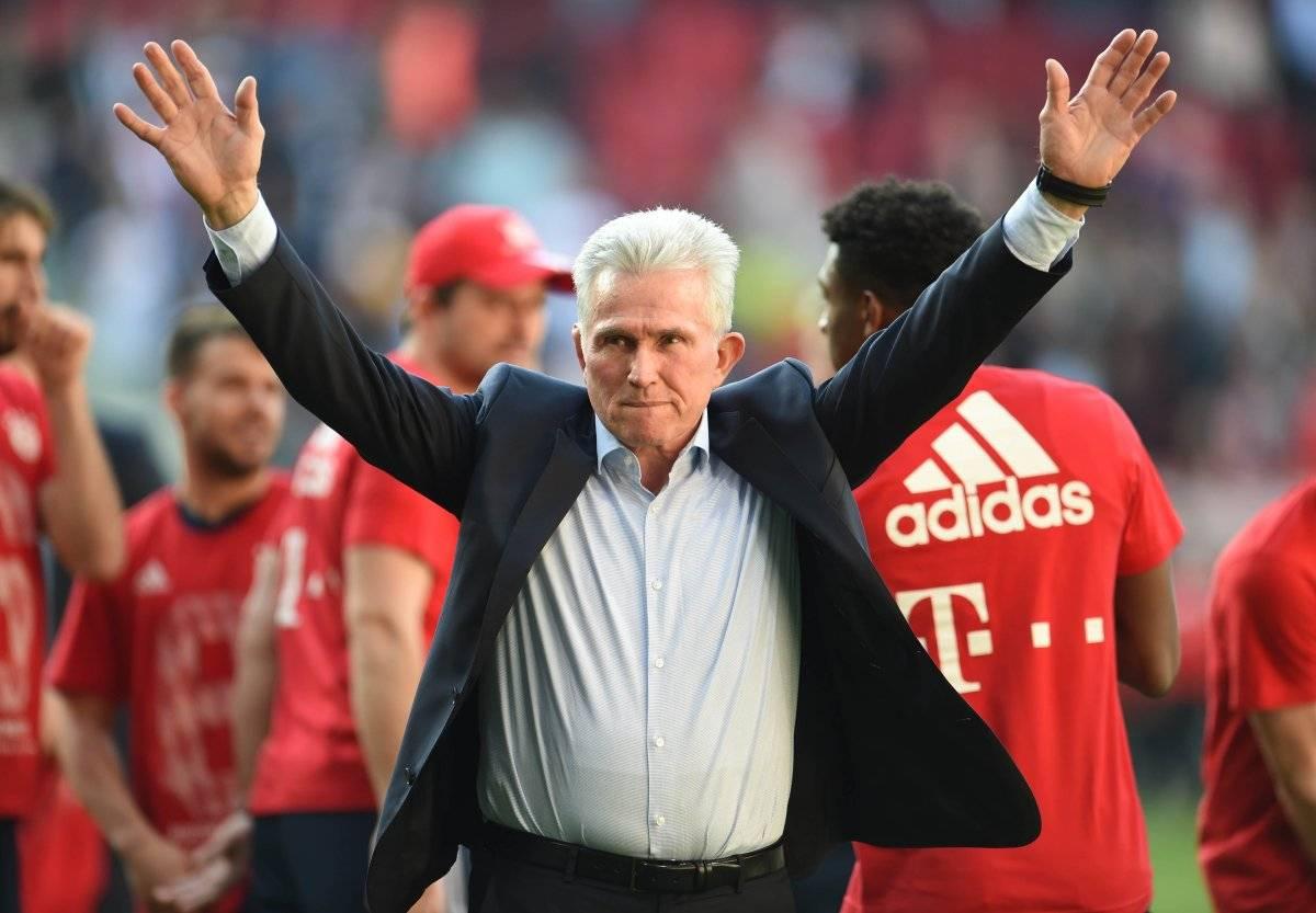 Jupp Heynckes vuelve a hacer historia con el Bayern.